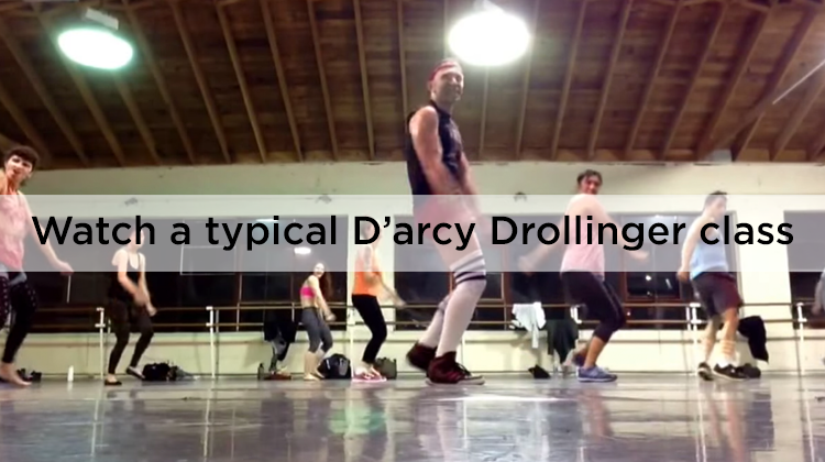 Watch a typical D'arcy Drollinger class