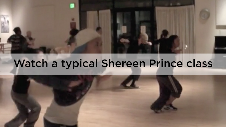 Watch a typical Shereen Prince class