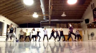 SF Flash Mob Practice 12.5.2013